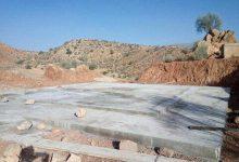 Photo of شروع ساخت مخزن ذخیره آب آشامیدنی گنک با حجم ۲۰۰ متر مکعب توسط آبفا روستایی