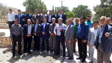 Photo of سفر جمعی از بخشداران و دهیاران استان تهران به میمند و روستای گنک در فصل گل و بازدید از روستا و گردشگری گنک